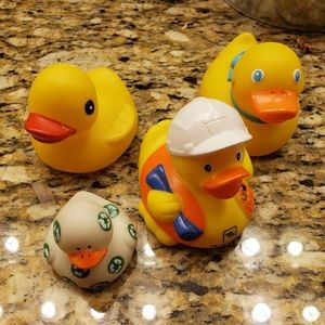 Other - Rubber Duckies - 5 ducks